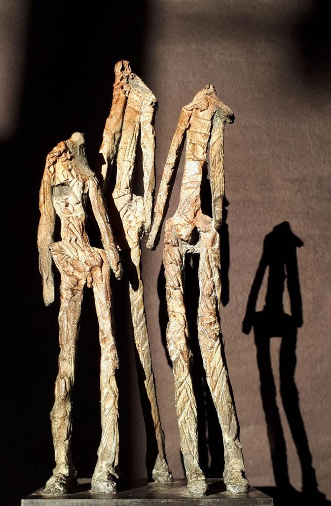Les magnifiques sculpture en bronze de Philippe Doberset