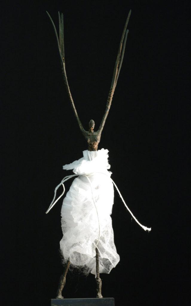 Danseuse sculpture en bronze et tarlatane philippe Doberset