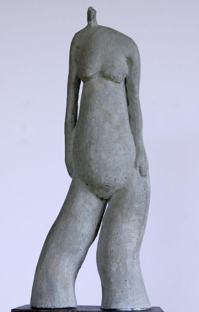Le grand pachy sculpture en béton ciré de Philippe Doberset