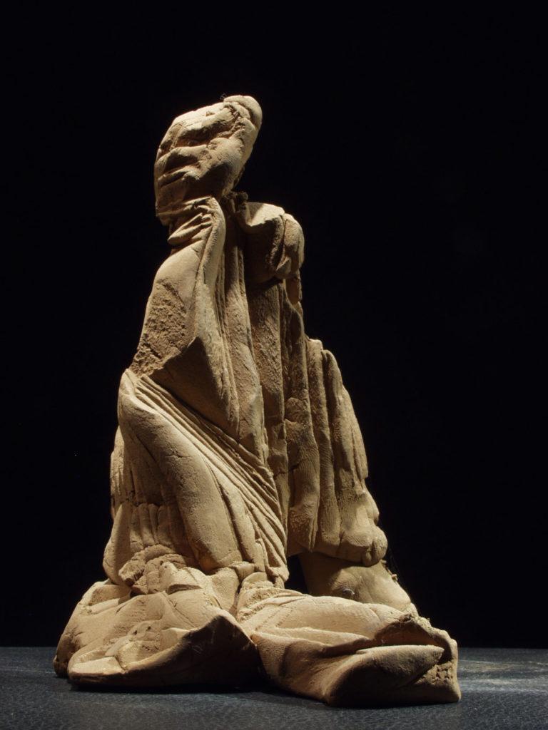 Attente du signe sculpture en vase de Philippe Doberset