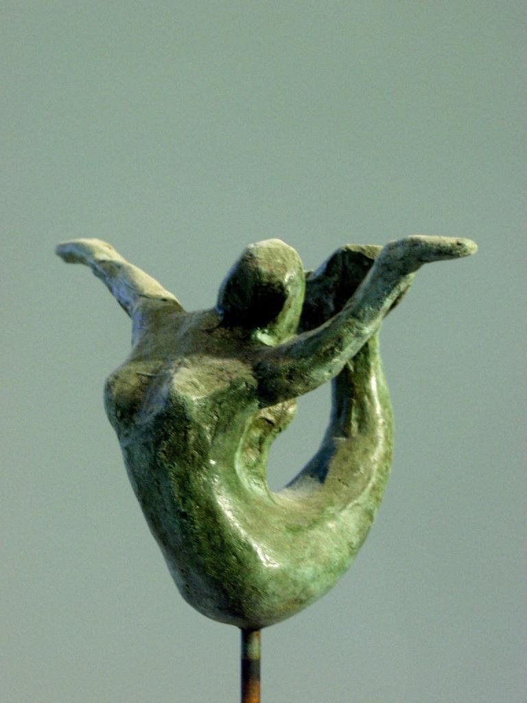 la petite sirène sculpture en bronze de Philippe Doberset
