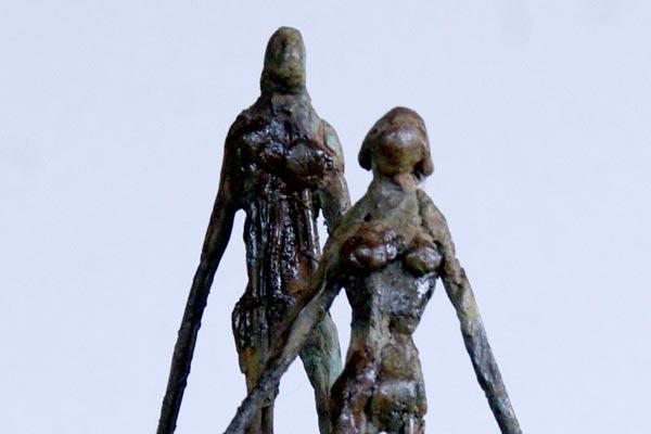 Couple Sculpture Philippe Doberset