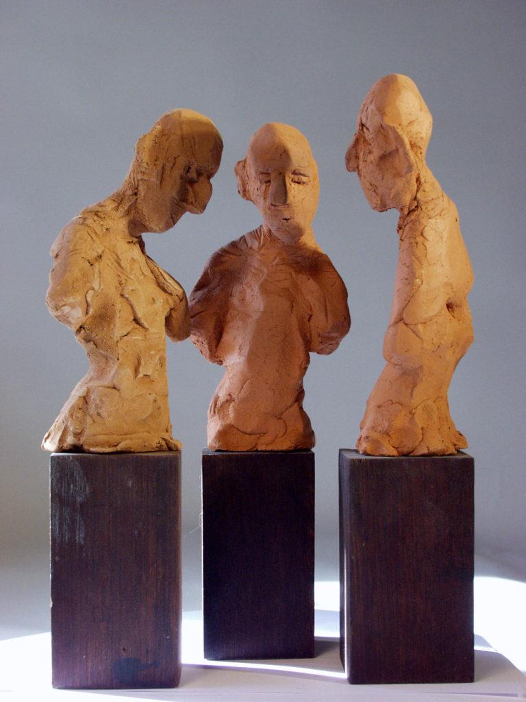 Conciliabule sculpture de Philippe Doberset