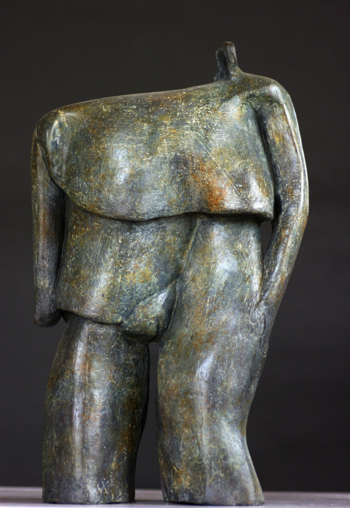 Gros Pachy sculpture bronze Philippe Doberset