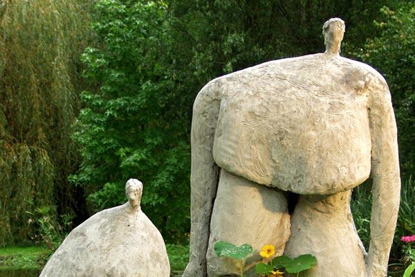 Les pachys aux capucines béton