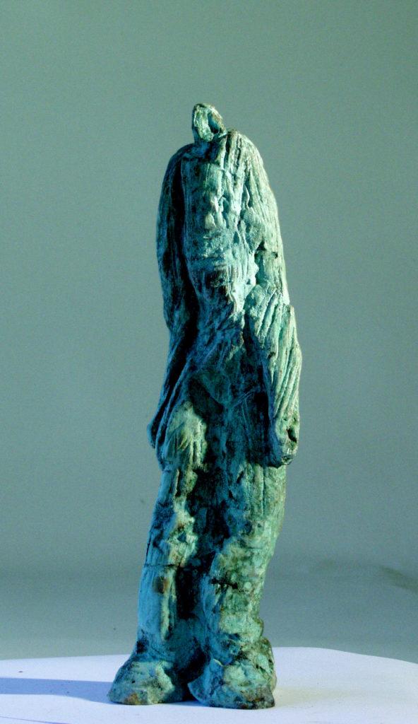 Femme de boue sculpture de Philippe Doberset