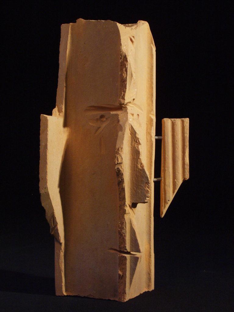 Autoportrait sculpture de Philippe Doberset