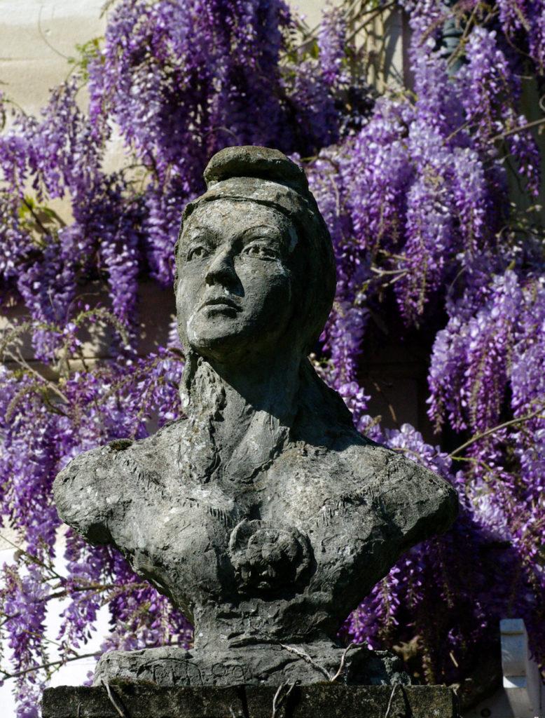 Marianne 1989 Sculpture en béton de Philippe Doberset