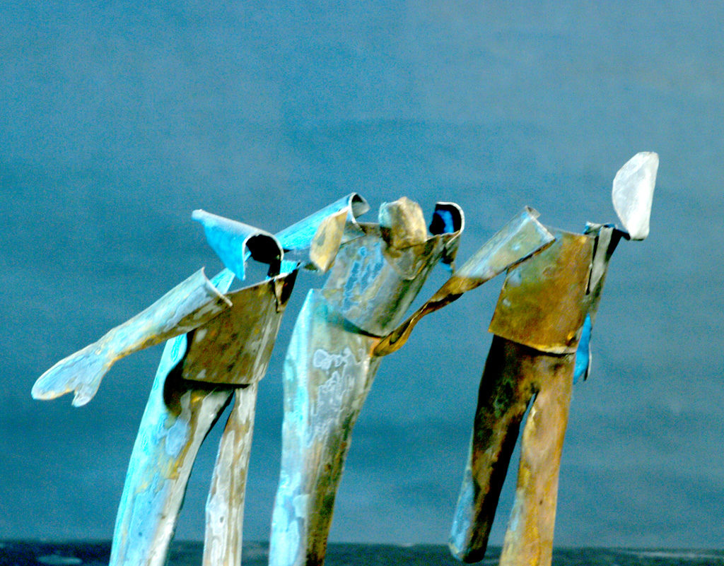 La fuite sculpture de Philippe Doberset