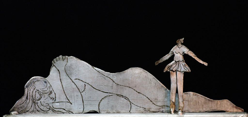 Le sommeil de la raison sculpture de Philippe Doberset