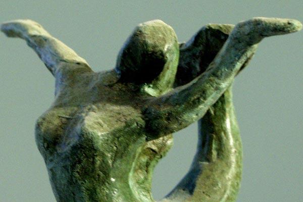 petite sirène sculpture de Philippe Doberset