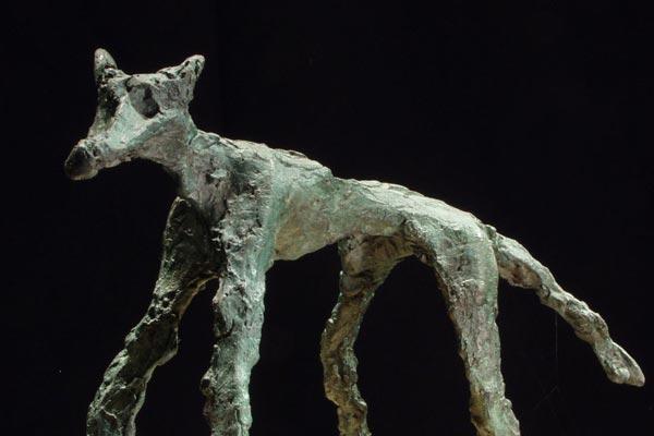le loup sculpture de Philippe Doberset