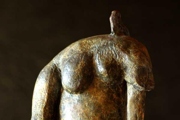 Grand pachy Sculpture en bronze de Philippe-Doberset